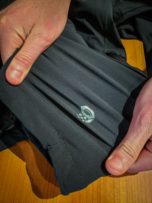 Image of stretch fabric