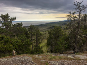 View of Lake Superior from Carlton Peak