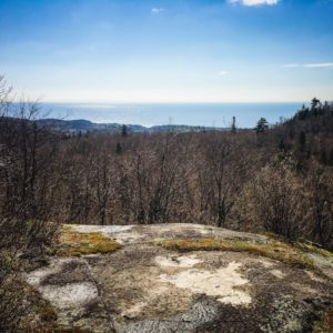 Raven Rock overlooking Lake Superior