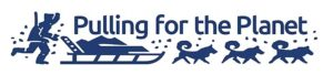 Dogsled pulling for the planet logo